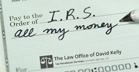 What Are My Options with My IRS Tax Debt?